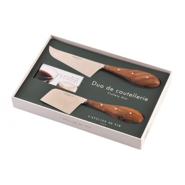 Набор ножей Duo de Coutellerie L'Atelier du Vin фото
