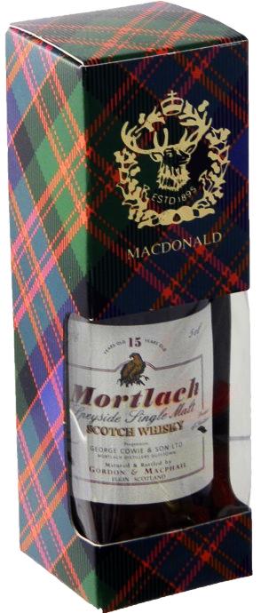 Gordon & MacPhail Mortlach 15 Y.O. (в коробке) фото