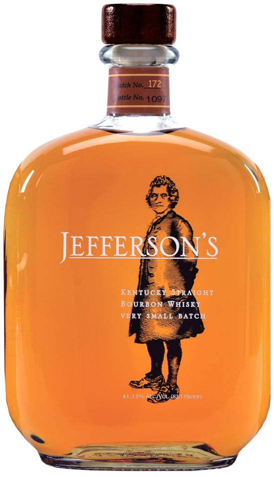 Jefferson's Kentucky Straight Bourbon Whisky фото