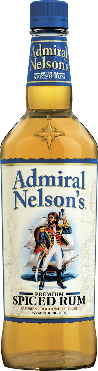 Admiral Nelson's Premium Spiced Rum фото