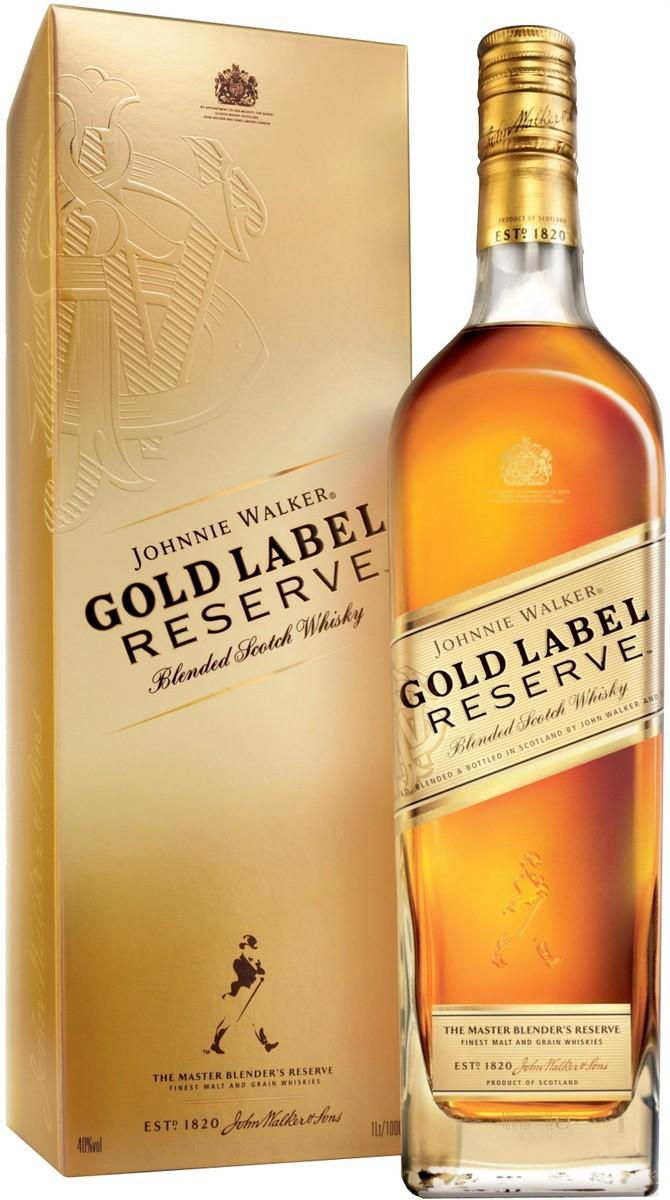 Johnnie Walker Gold Label Reserve (в коробке) фото