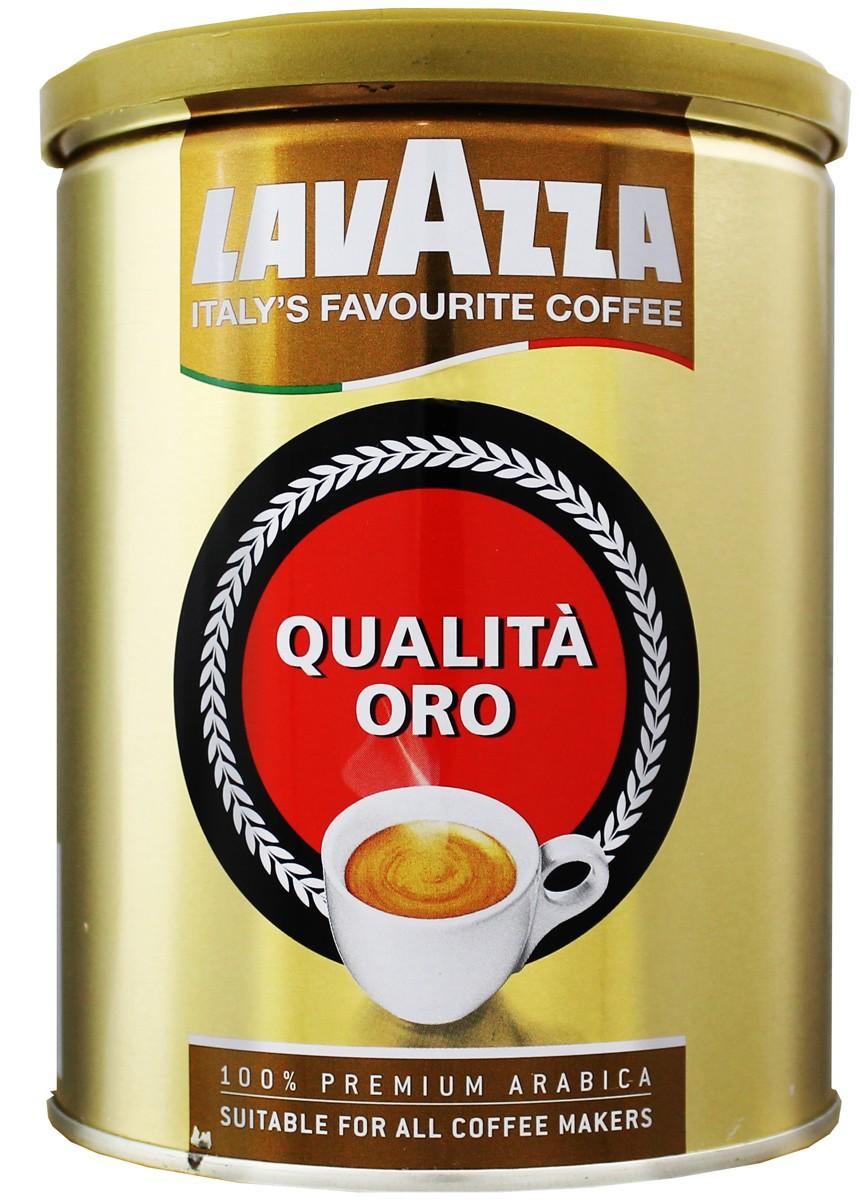 Lavazza Qualita Oro кофе молотый фото