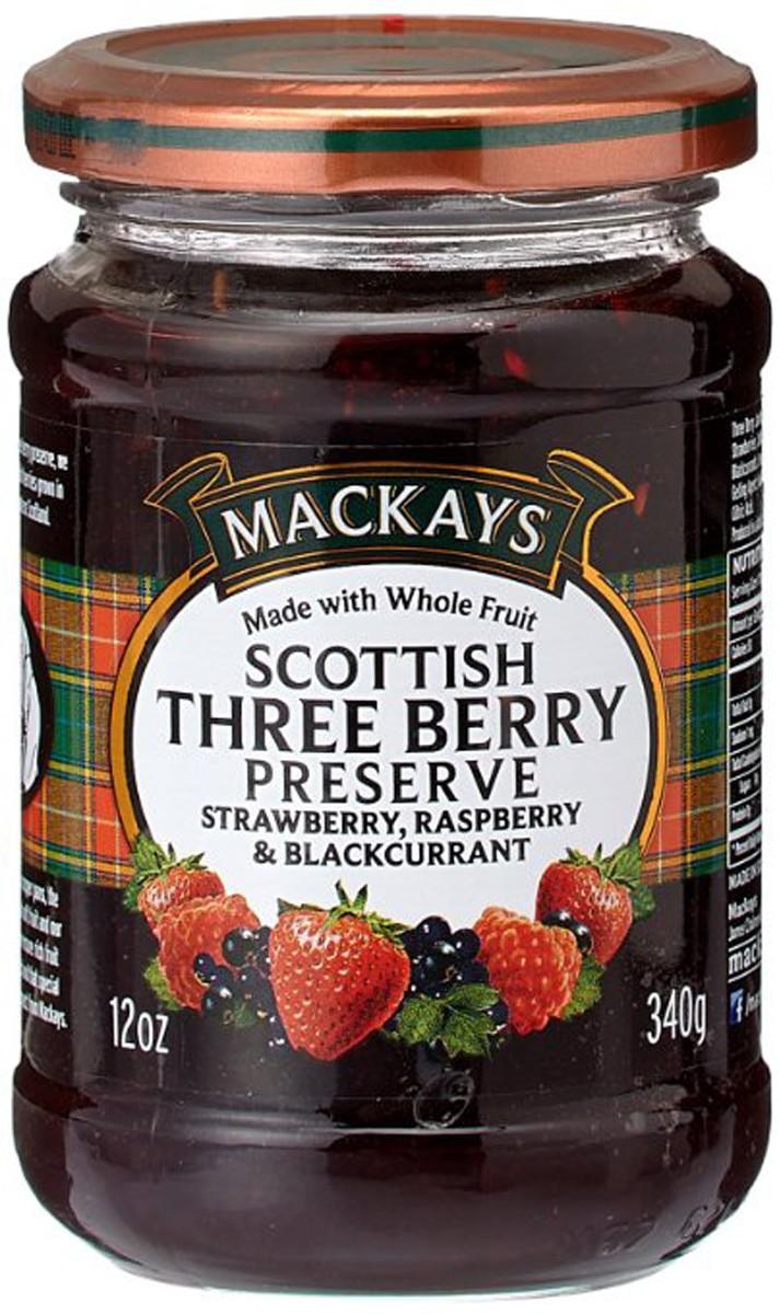 Джем «Шотландская черная смородина» Mackays фото