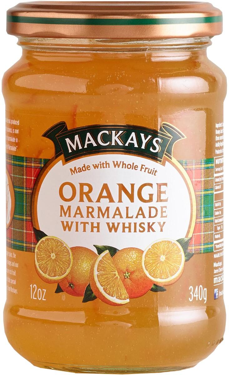 Конфитюр «Апельсин с виски» Mackays фото