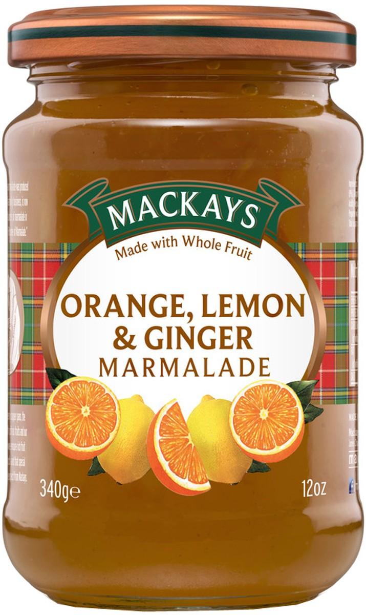 Конфитюр «Апельсин и лимон с имбирем» Mackays фото