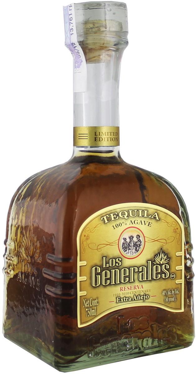 Los Generales Extra Anejo фото