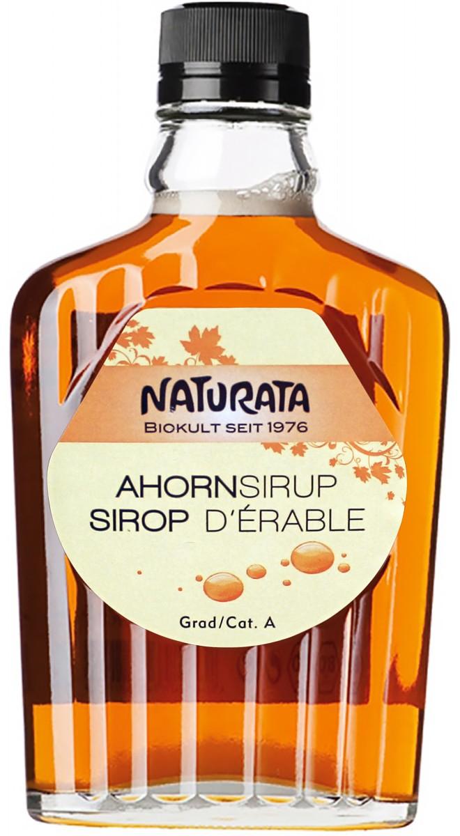 Сироп кленовый класса А органический Naturata фото
