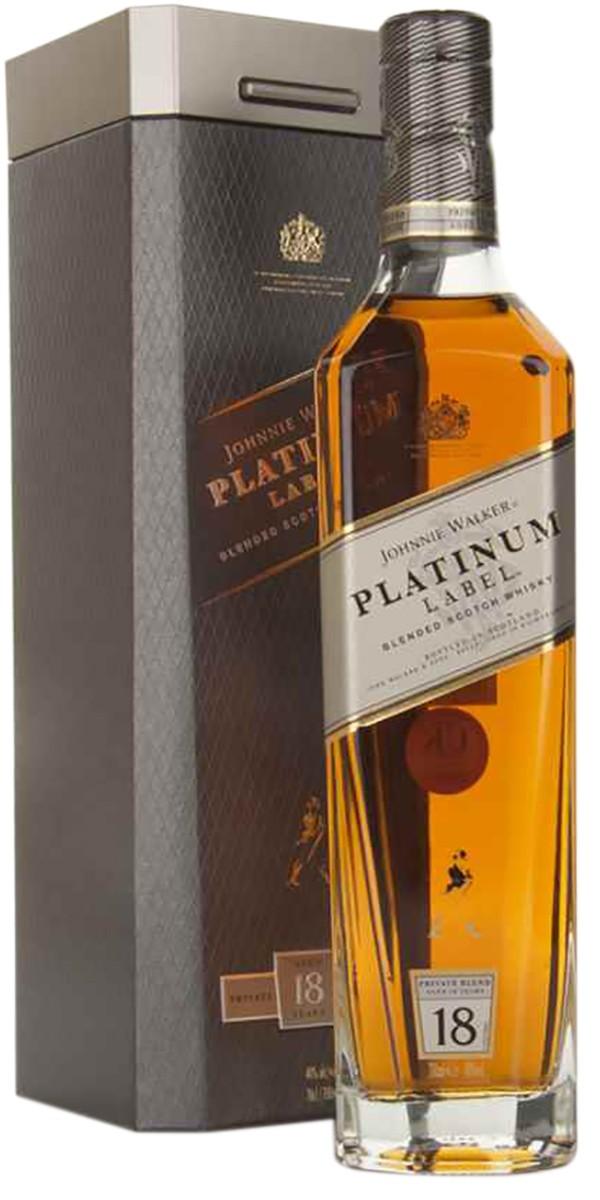 Johnnie Walker Platinum Label (в коробке) фото