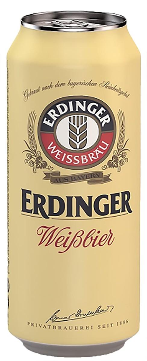 Erdinger Weissbier светлое солодовое фото