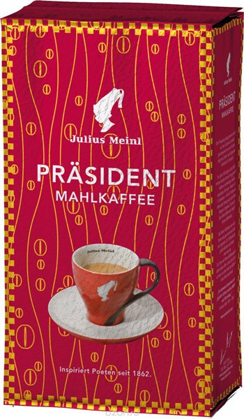 Julius Meinl President кофе молотый фото