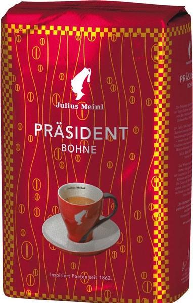 Julius Meinl President кофе в зернах фото