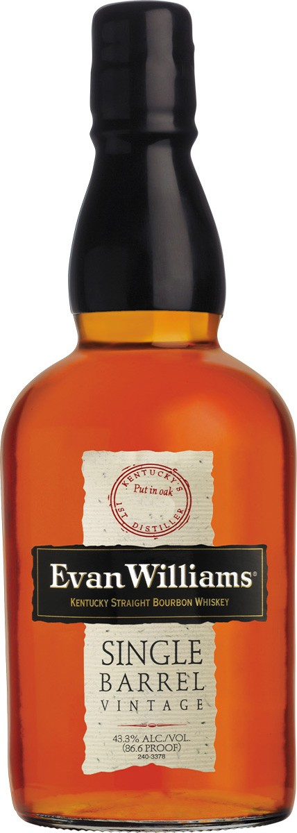 Evan Williams Single Barrel Vintage фото