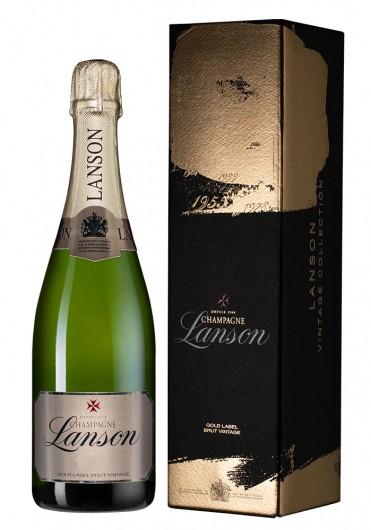 Champagne Lanson Gold Label Brut Vintage фото