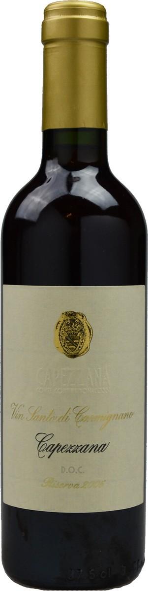 Capezzana Vin Santo di Carmignano Riserva фото