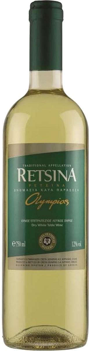 Mediterra Winery Retsina Olympias фото