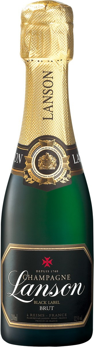 Champagne Lanson Black Label Brut фото