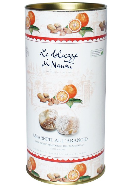 Печиво мигдальне з апельсином Amaretti Dolcezze Di Nanni фото