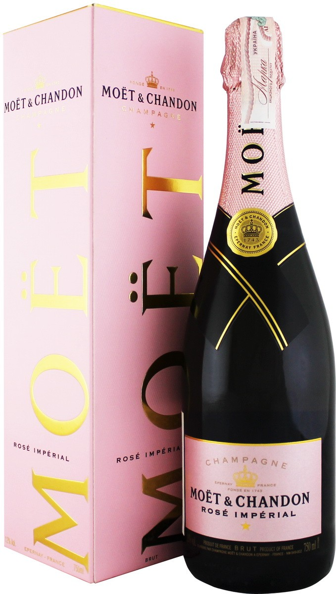 Moet & Chandon Brut Imperial Rose Champagne фото