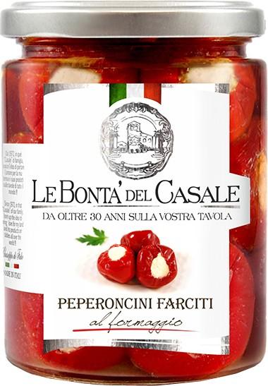 Перец фаршированный сыром фета Le Bonta' del Casale фото