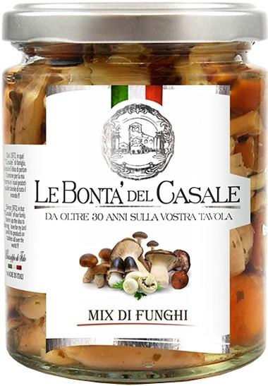 Грибной микс в масле Le Bonta' del Casale фото
