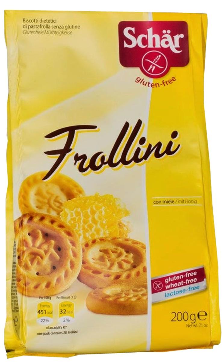 Печиво пісочне до чаю без лактози Frollini Dr. Schär фото
