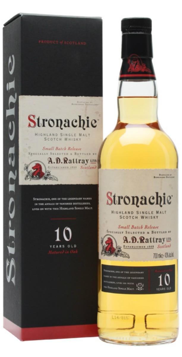 Dewar Rattray Stronachie 10Y.O. (в коробке) фото