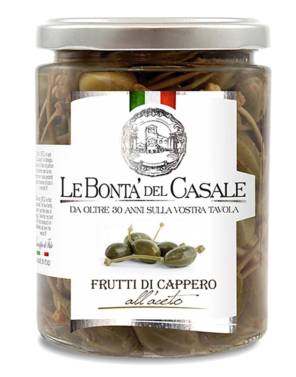 Каперси у винному оцті Le Bonta' del Casale фото