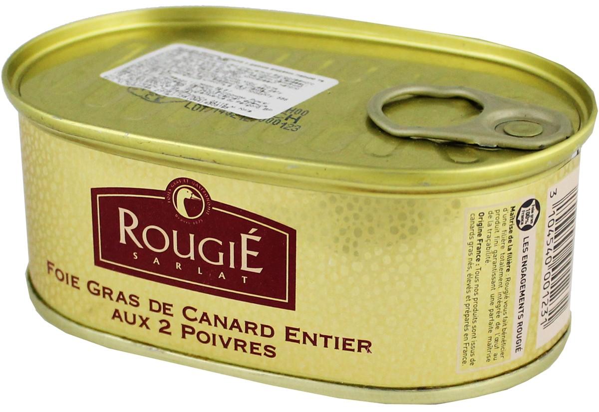 Фуа-гра утиное цельное с перцем и шампанским Rougie фото