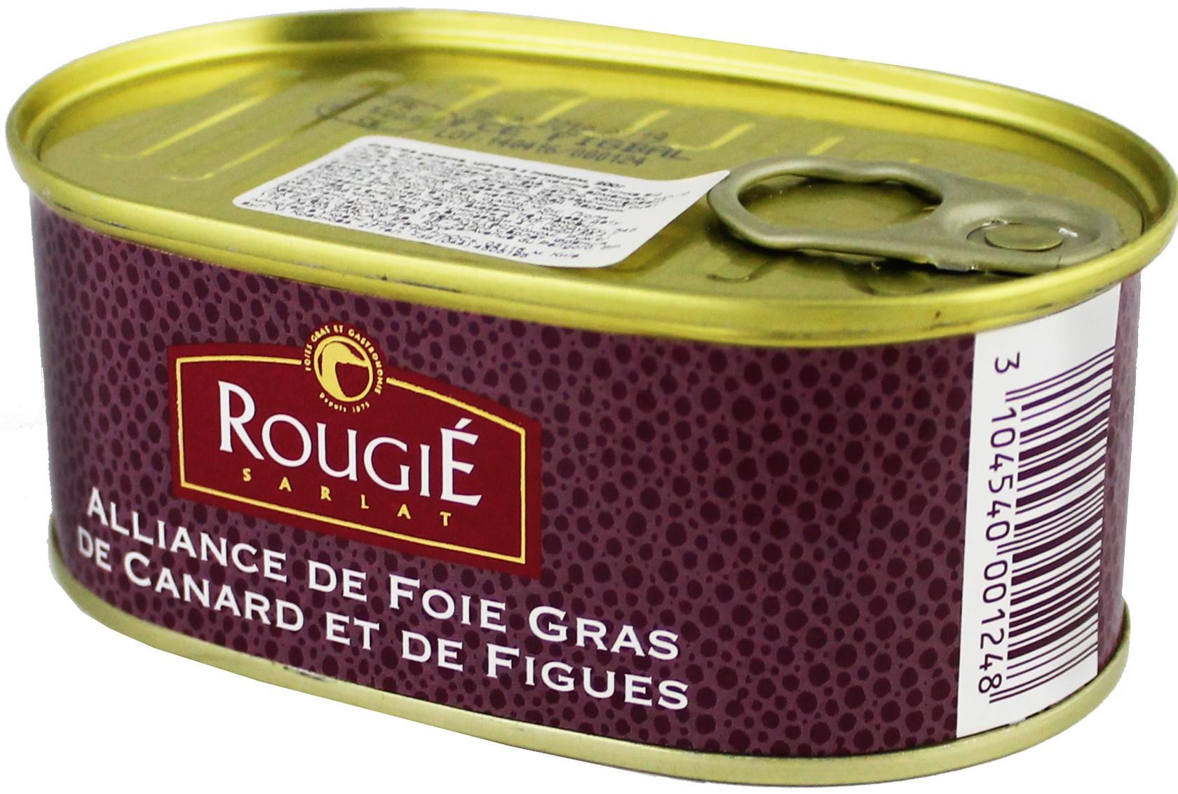 Фуа-гра утиное с инжиром Rougie фото