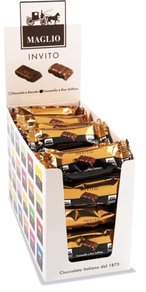 Шоколад Invito з повітряним рисом і карамеллю Maglio Arte Dolciaria фото