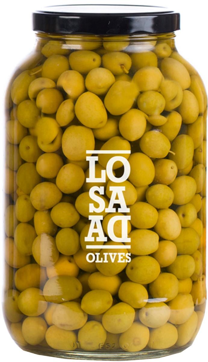 Оливки сорта Manzanilla Losada фото