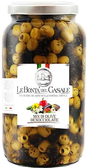 Микс оливок без косточек Le Bonta' del Casale фото