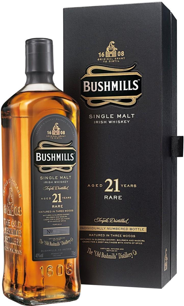 Bushmills 21Y.O. (в коробке) фото