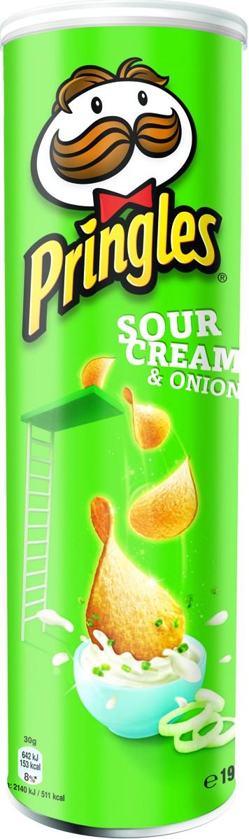 Чипсы Pringles со вкусом сметаны и лука фото