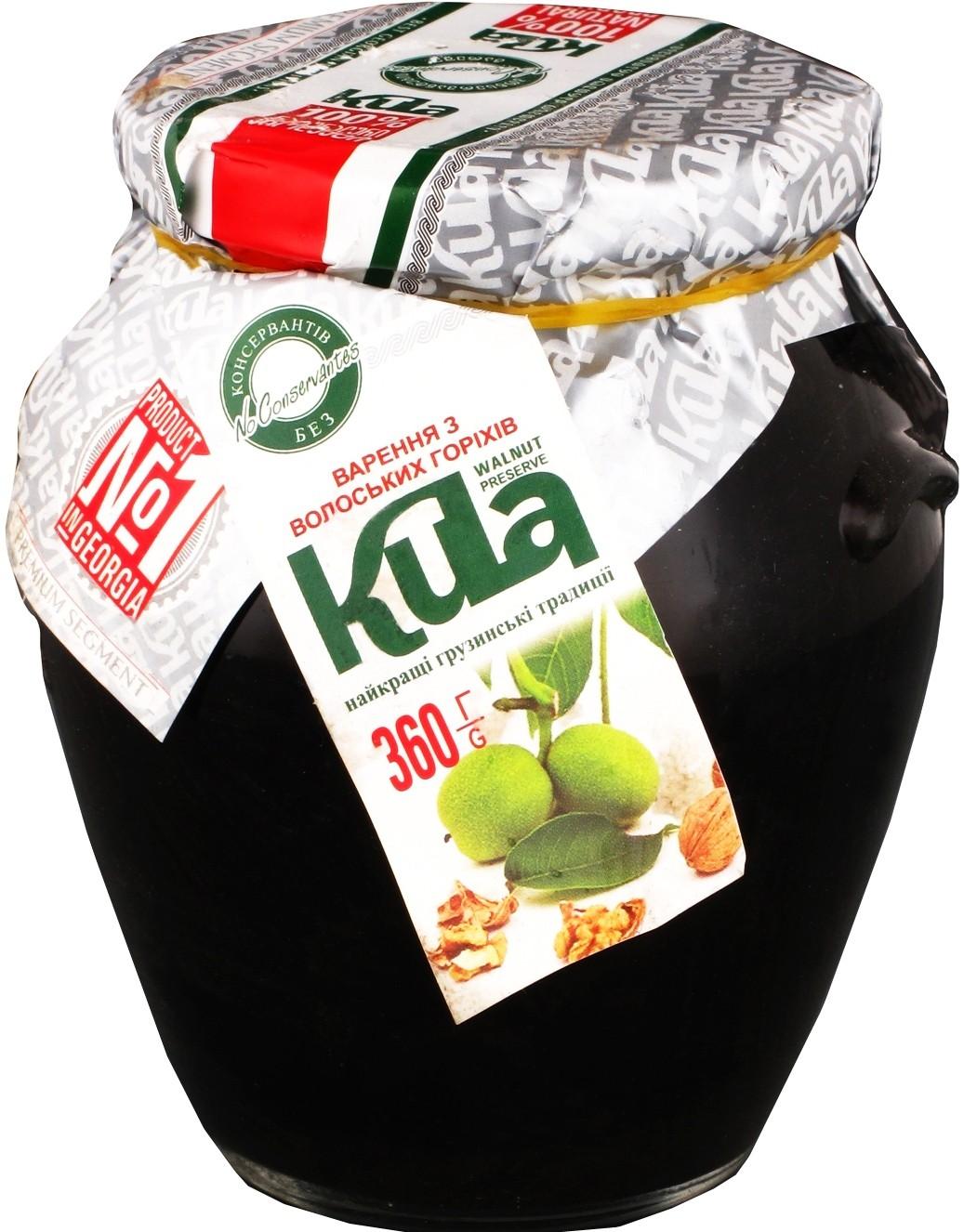 Варенье из грецких орехов Kula фото