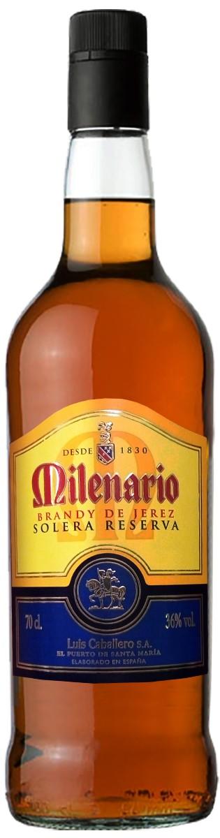 Luis Caballero Milenario Brandy de Jerez Solera Reserva фото