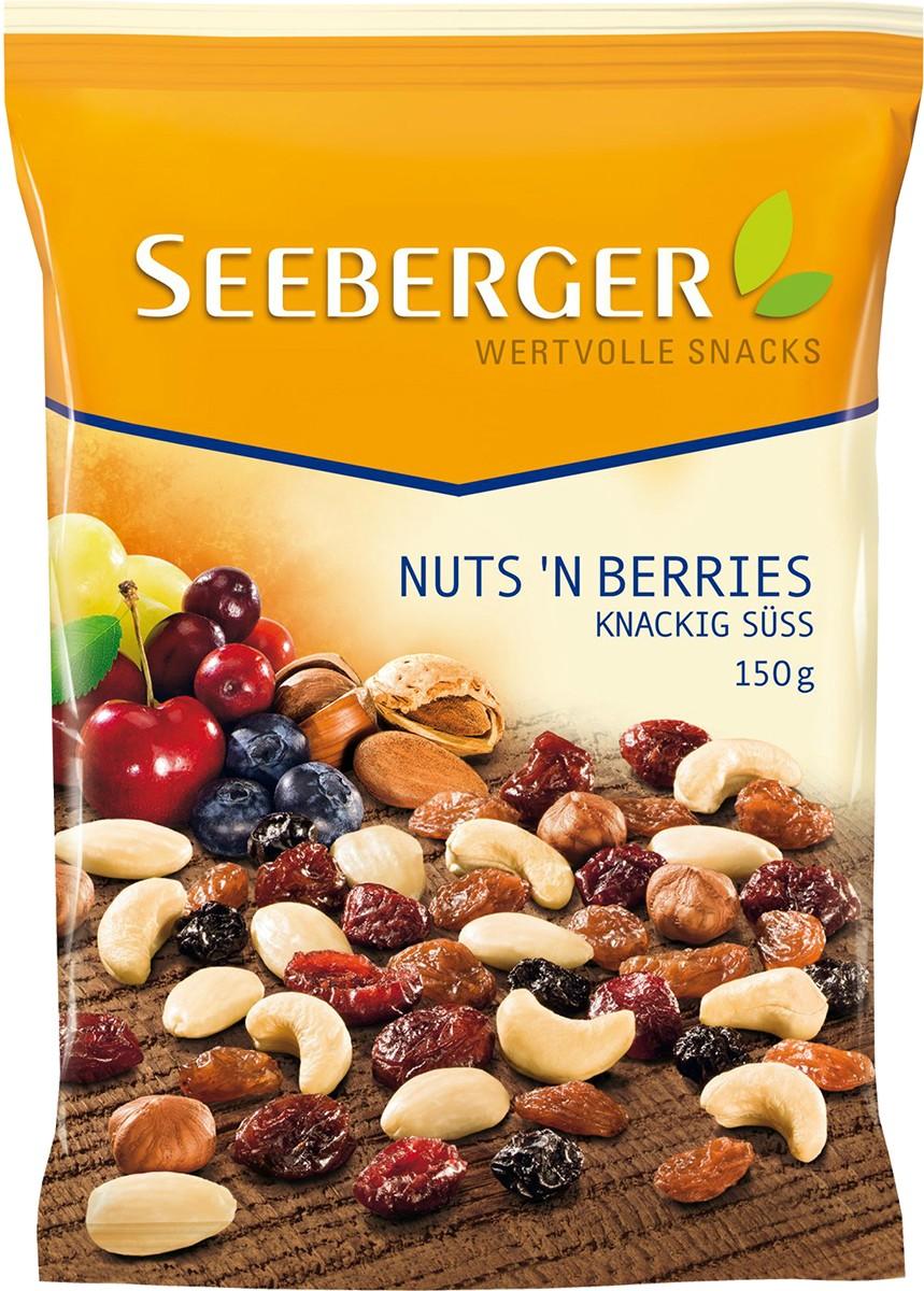 Смесь орехов и ягод питательная Seeberger фото