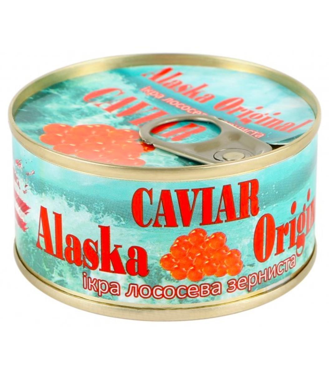 Икра лососевая Alaska Original фото
