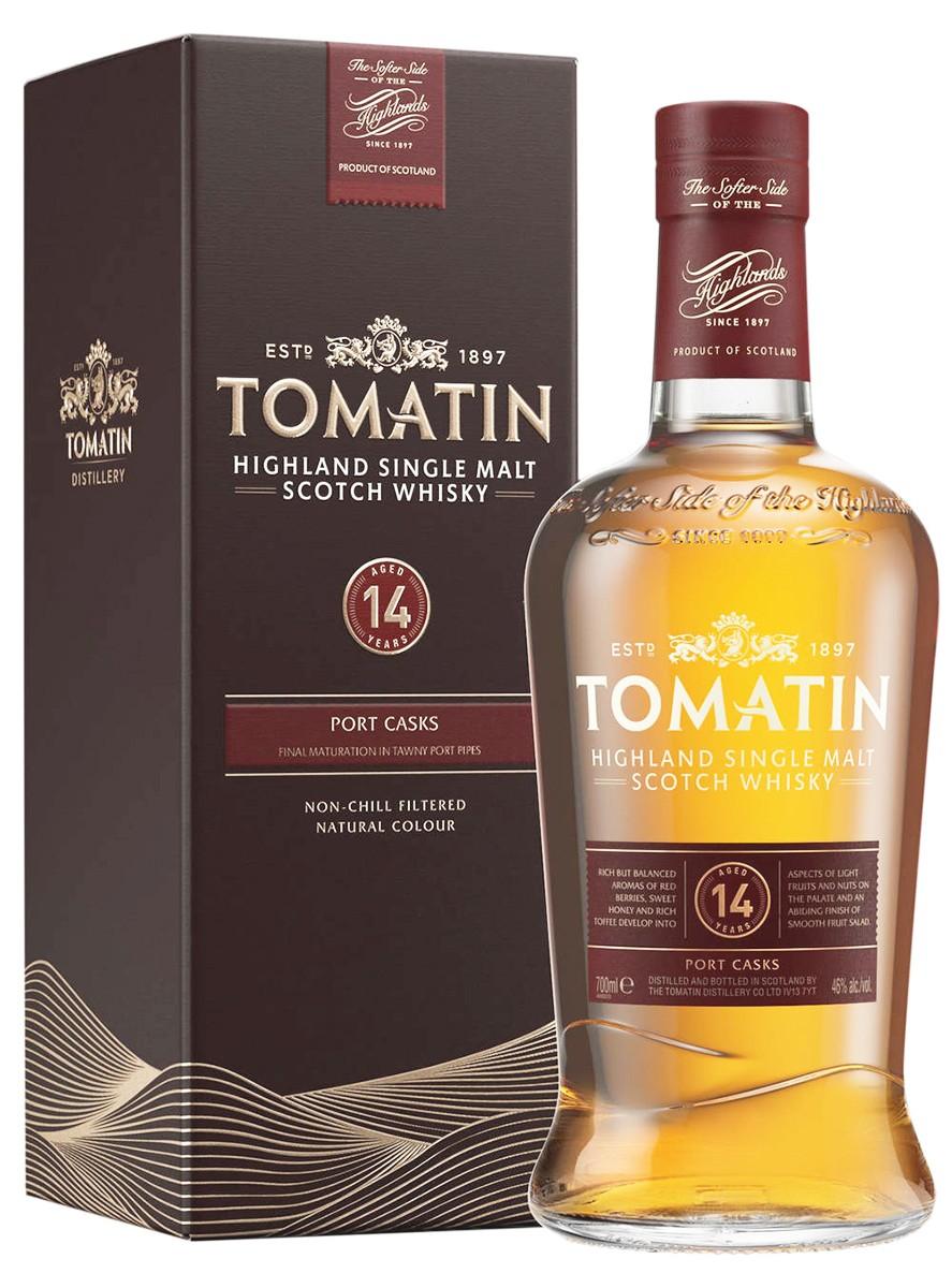 Tomatin 14Y.O. Port Wood Finish (в коробке) фото