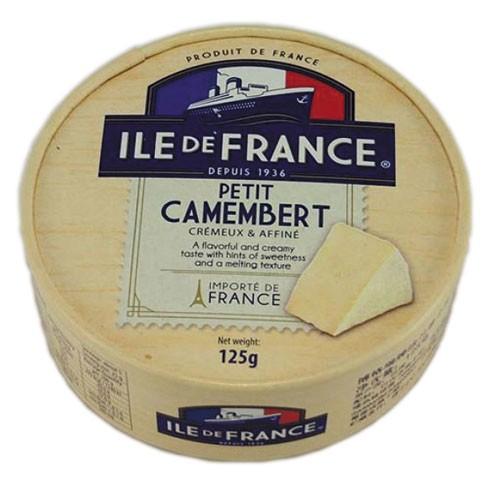 Сыр с белой плесенью Petit Camembert Ile de France фото