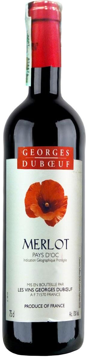 George Duboeuf Merlot Vin de Pays d'Oc фото