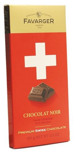 Шоколад чорний 62% Premium Swiss Chocolate Favarger фото