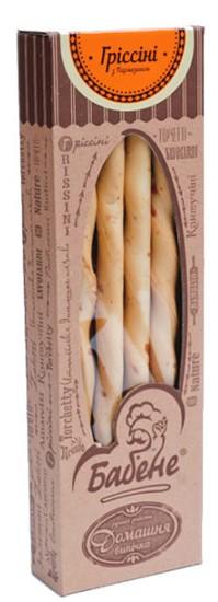 Гриссини с сыром пармезан Бабене фото