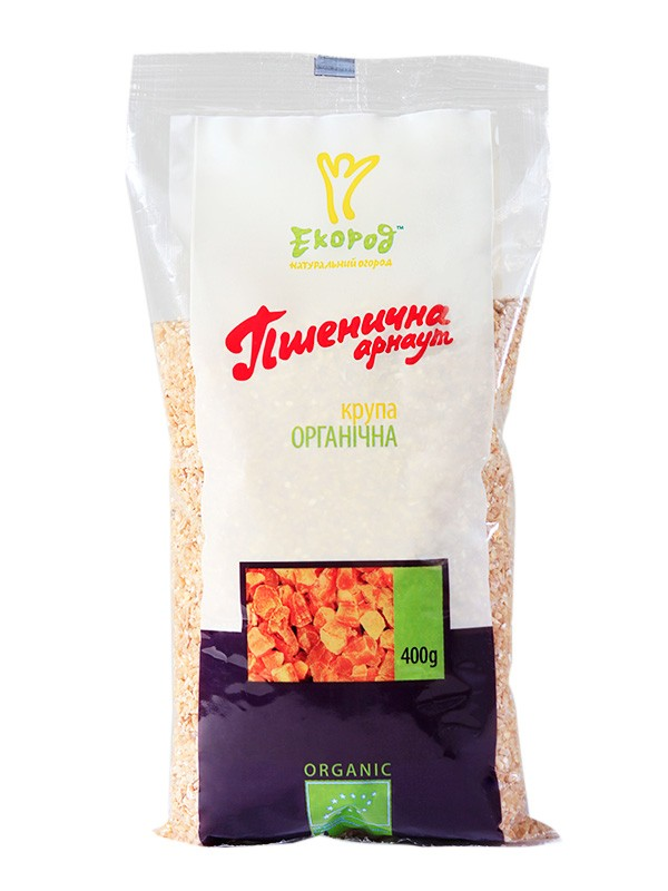 Крупа пшеничная органическая Арнаут Экород фото