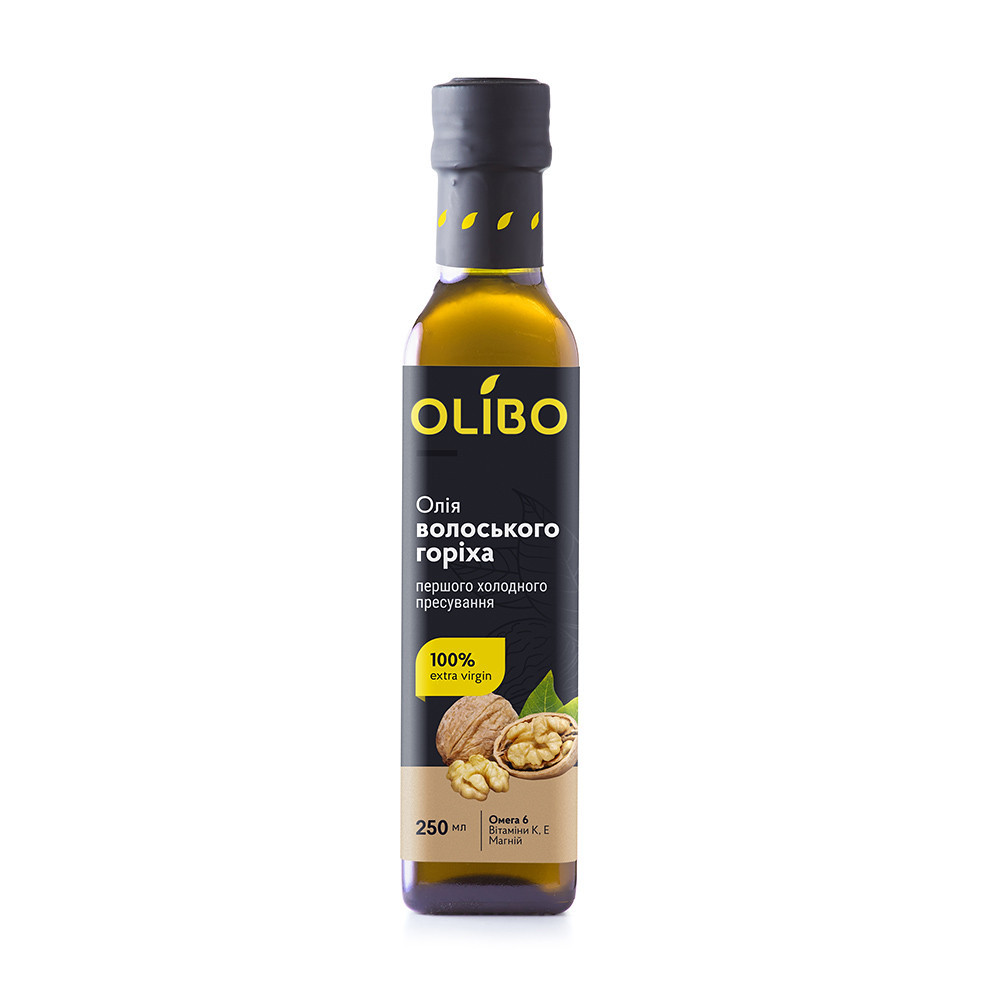 Масло Оlibo из семян грецкого ореха фото