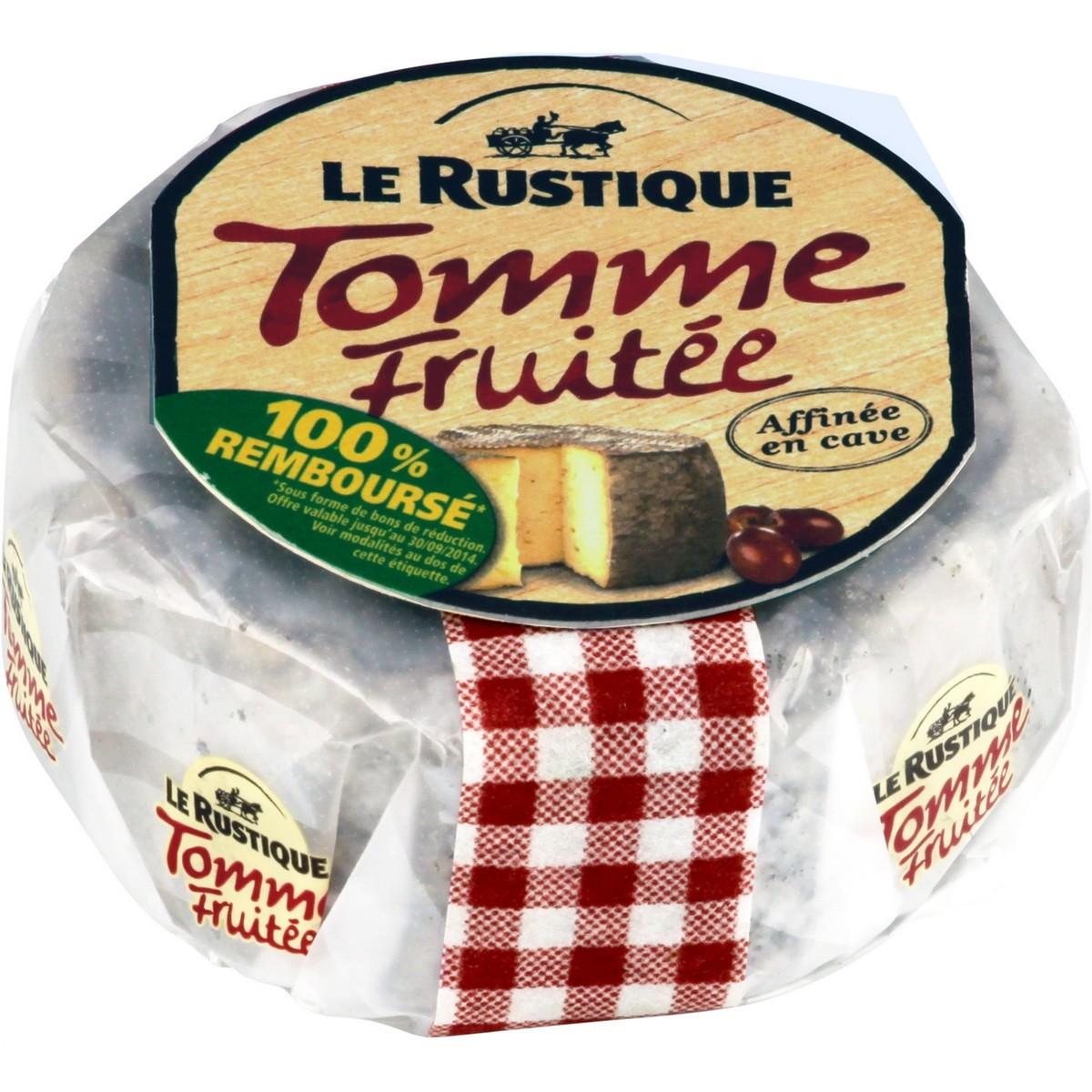 Сыр с белой плесенью Tomme Fruitte Le Rustique фото