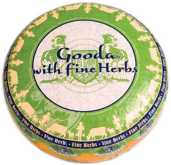 Сир Gooda з прянощами Cheeseland фото