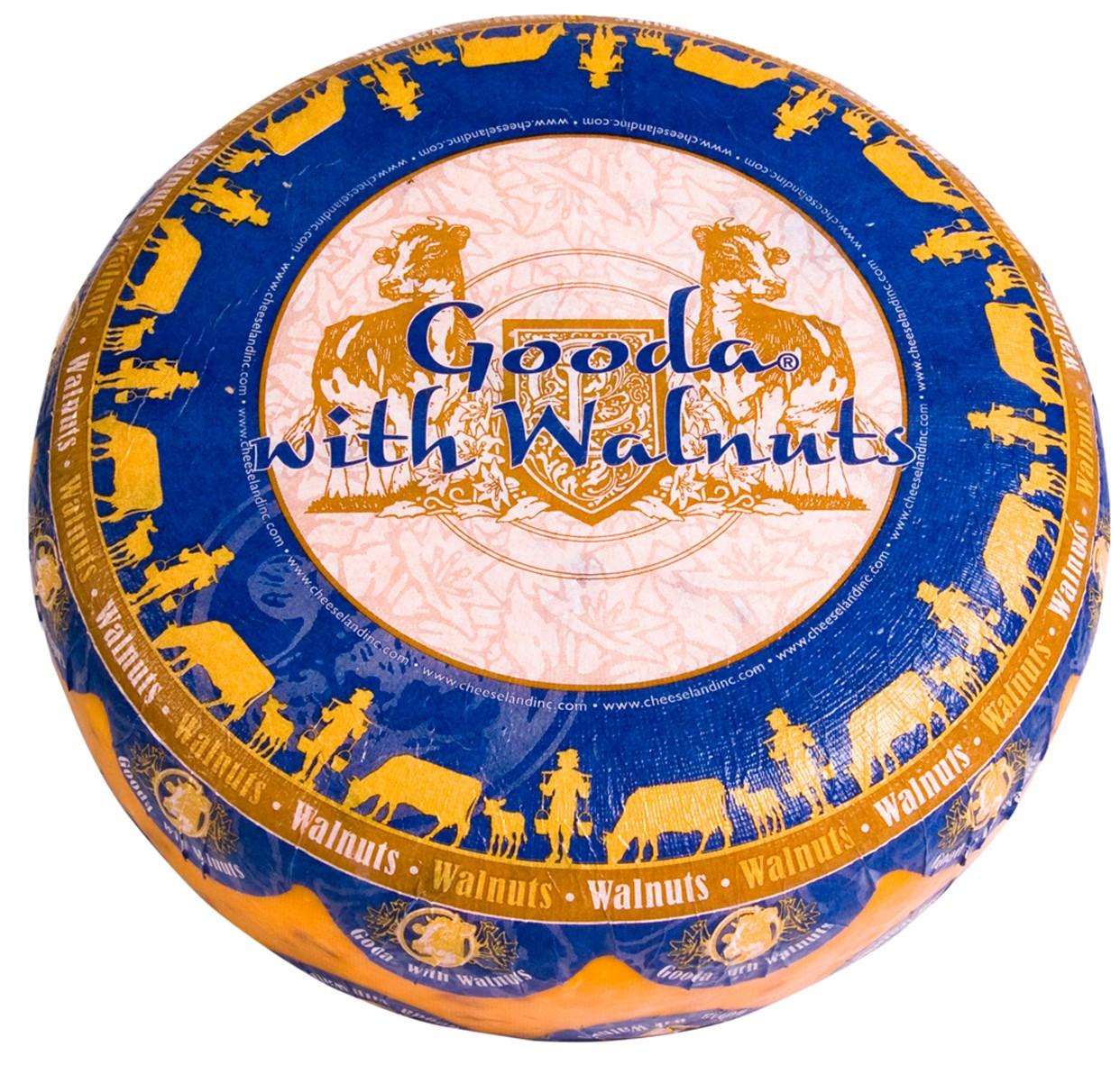 Сир Gooda з волоським горіхом Cheeseland фото