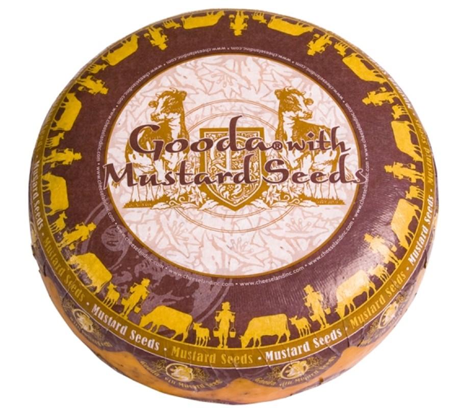 Сир Gooda із зернами гірчиці Cheeseland фото