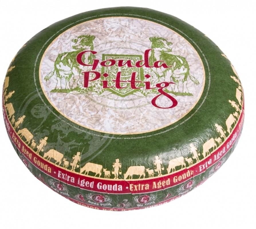 Сыр Gouda Pittig экстра выдержки Cheeseland фото